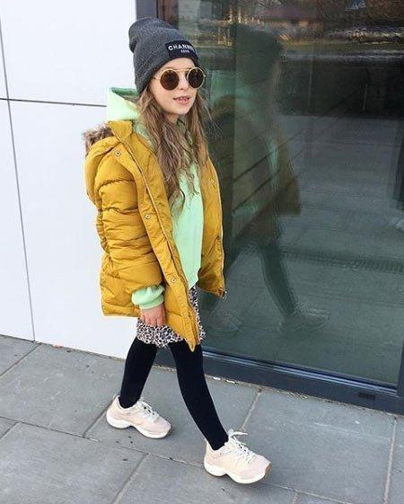 genç kız sokak kombini 12 yaş