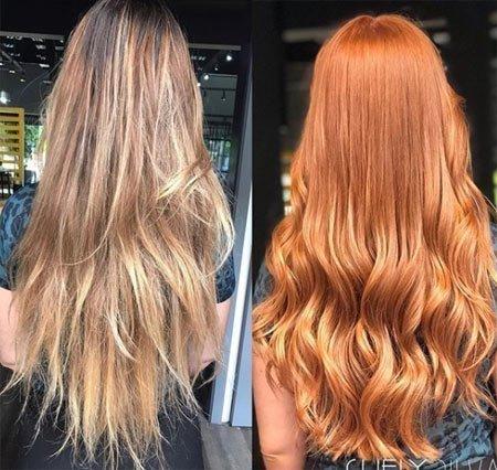 zencefil saç rengi ve boyası 14