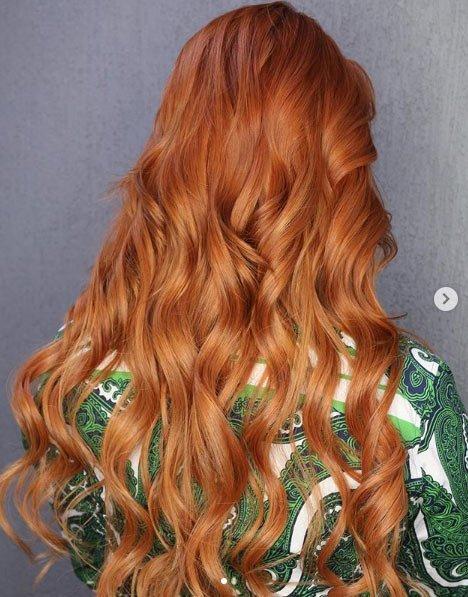 zencefil saç rengi ve boyası 13