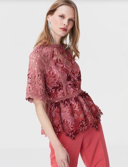 2019 ipekyol peplum  bluz