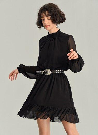 100 en güzel şifon elbise kombinleri ve modelleri 5