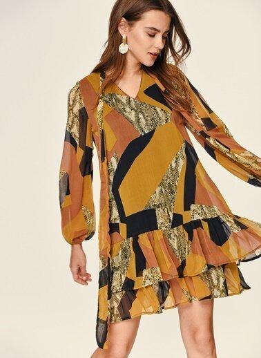 100 en güzel şifon elbise kombinleri ve modelleri 7