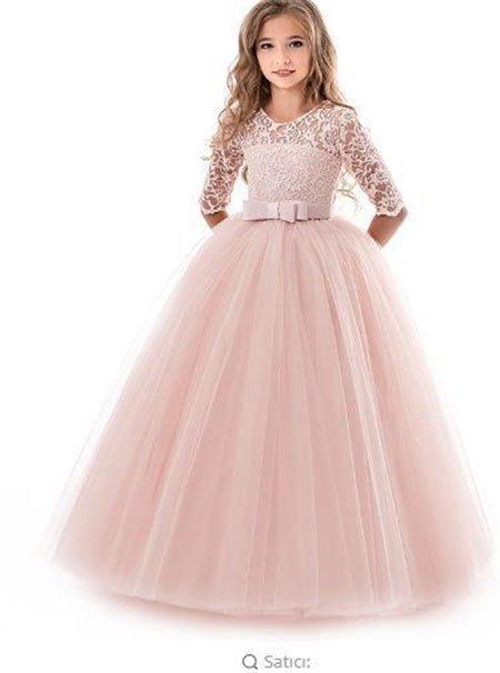 12 yaş abiye elbise modelleri ve fiyatları 3