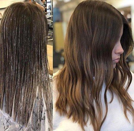 büşra develi saç rengi ve modelleri 2