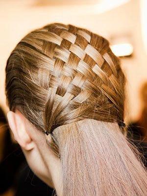 sepet - hazır saç örgüsü nasıl yapılır 2