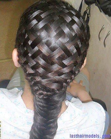 sepet - hazır saç örgüsü nasıl yapılır 7