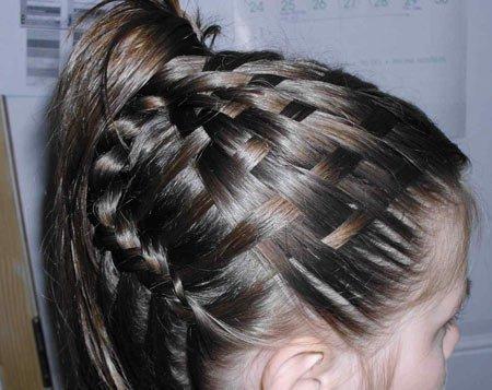 sepet - hazır saç örgüsü nasıl yapılır 8