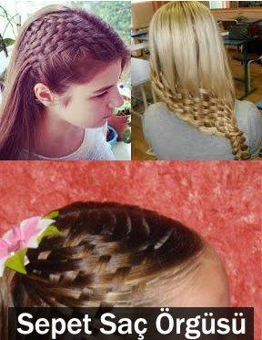 sepet - hazır saç örgüsü nasıl yapılır 1