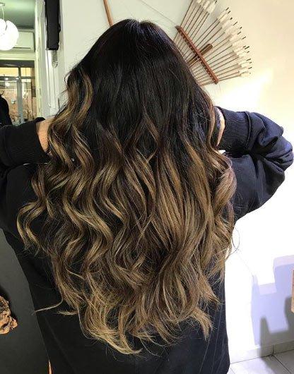 siyah saça ombre nasıl yapılır? 4