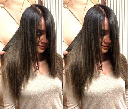 siyah saça ombre nasıl yapılır? 12