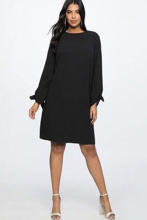 2019 büyük beden elbise modelleri 12
