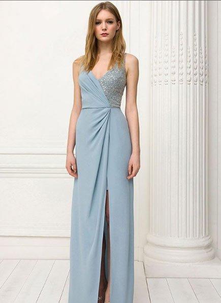 2020 vakko abiye elbise modelleri 5