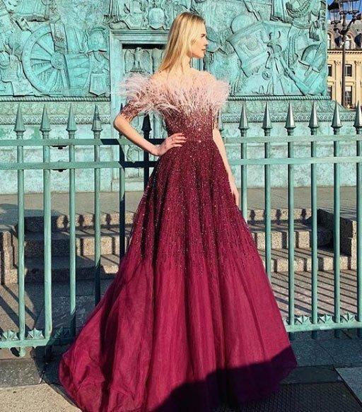 2020 vakko abiye elbise modelleri 16