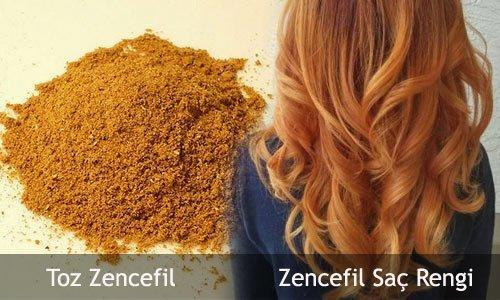 zencefil saç rengi ve boyası 1