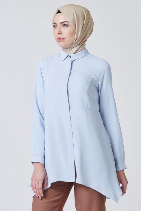 2020 tesettür bluz modelleri 10