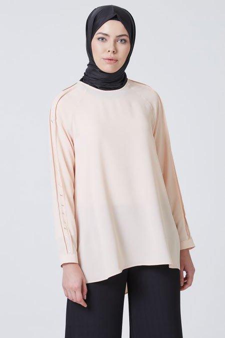 2020 tesettür bluz modelleri 11