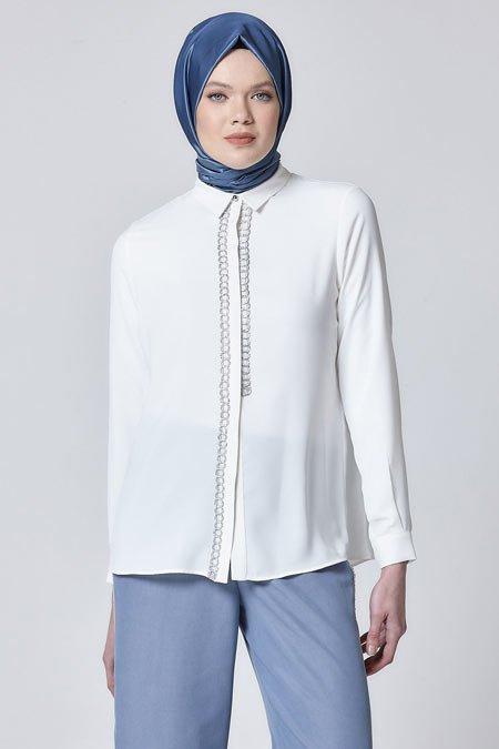 2020 tesettür bluz modelleri 12