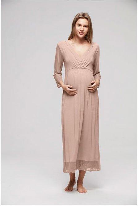 50 adet hamile giyim için en güzel elbise modelleri 1