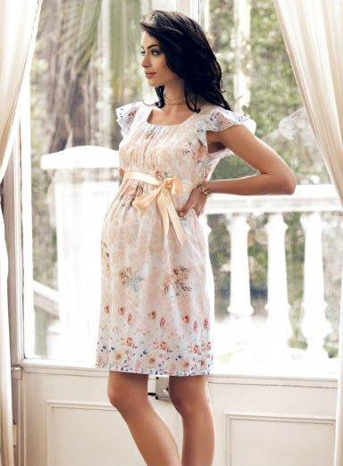 50 adet hamile giyim için en güzel elbise modelleri 7