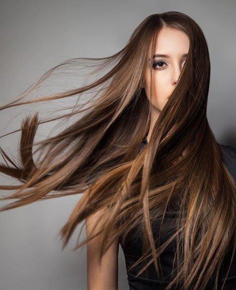fındık kabuğu saç rengi tonları / boya uygulaması 5