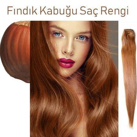 fındık kabuğu saç rengi tonları / boya uygulaması 1
