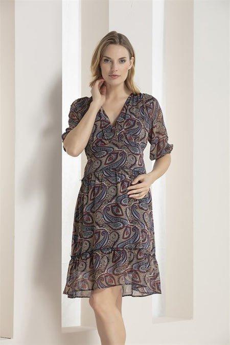 50 adet hamile giyim için en güzel elbise modelleri 14