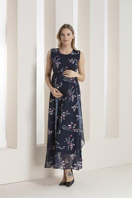 50 adet hamile giyim için en güzel elbise modelleri 15
