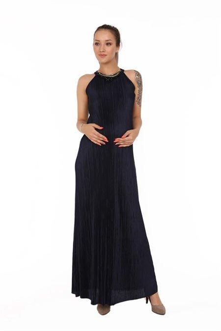 50 adet hamile giyim için en güzel elbise modelleri 13