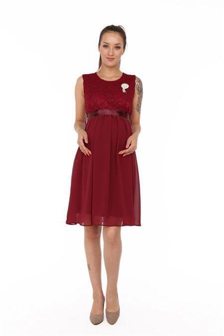 50 adet hamile giyim için en güzel elbise modelleri 12