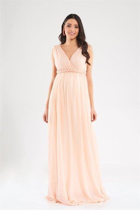 50 adet hamile giyim için en güzel elbise modelleri 9