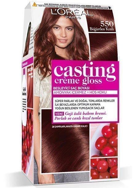 kızıl kahve -  saç renkleri 1