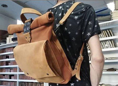 sırt çantası nubuk deri sırt çanta
