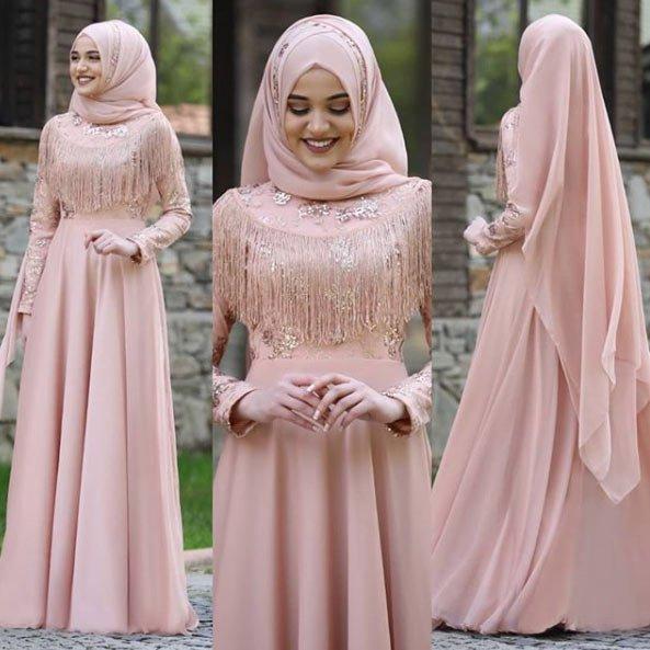 2021 tesettür mezuniyet elbiseleri için 45 en güzel kıyafet 13