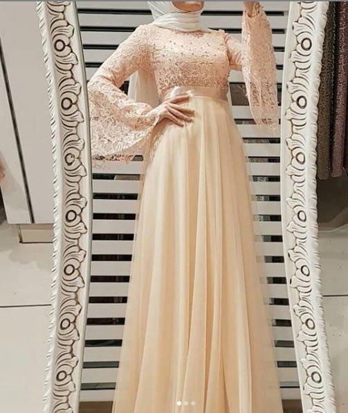 2021 tesettür mezuniyet elbiseleri için 45 en güzel kıyafet 24