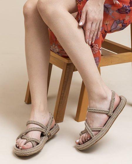 Topuksuz Sandalet Modeli