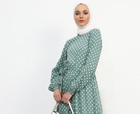 modanisa Elbise tesettür