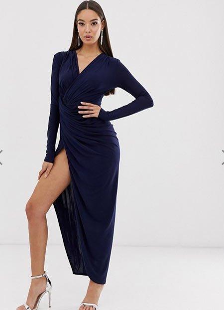 yazlık uzun abiye elbise modelleri 13