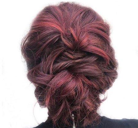 bordo saç rengi ve saç boyaları 2
