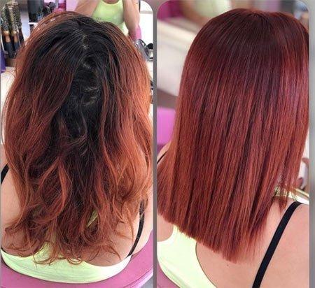 saç cilası nedir nasıl uygulanır? 5
