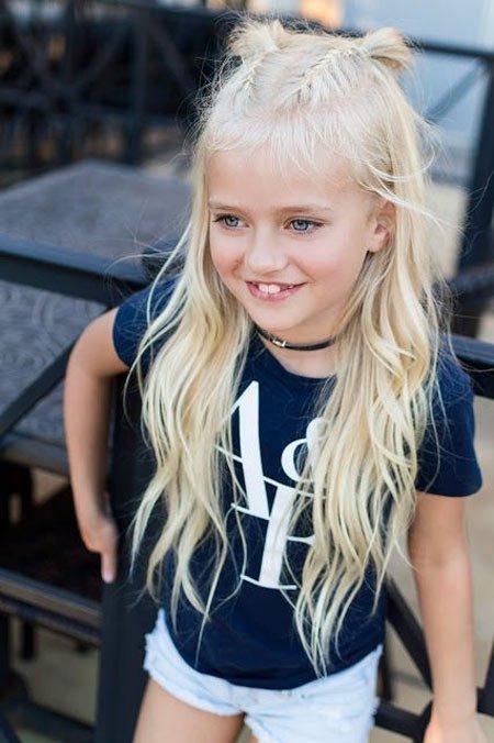 küçük kızlar i̇çin farklı saç örgüleri 2