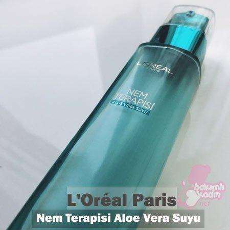 l'oréal paris - nem terapisi aloe vera suyu kullanıcı yorumları 20