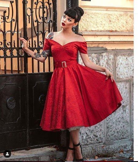 rüyada kırmızı elbise görmek 1