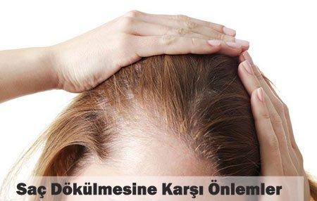 saç dökülmesine karşı alınabilecek önlemler 18