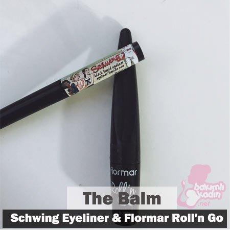 the balm - schwing eyeliner ve flormar roll'n go kullanıcı yorumları 21