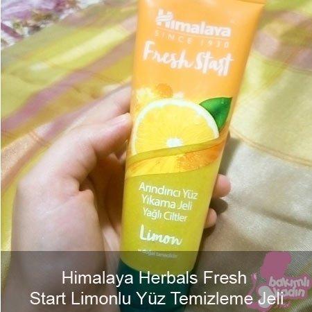 Himalaya Herbals Fresh Start Limonlu Yüz Temizleme Jeli