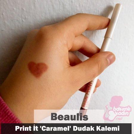 beaulis print i̇t caramel dudak kalemi 2