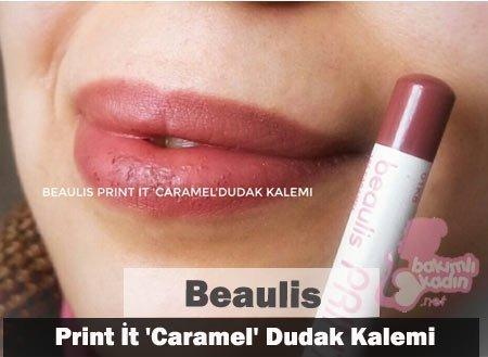 beaulis print i̇t caramel dudak kalemi 1