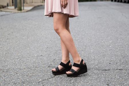 Günlük dolgu topuklu Ayakkabı