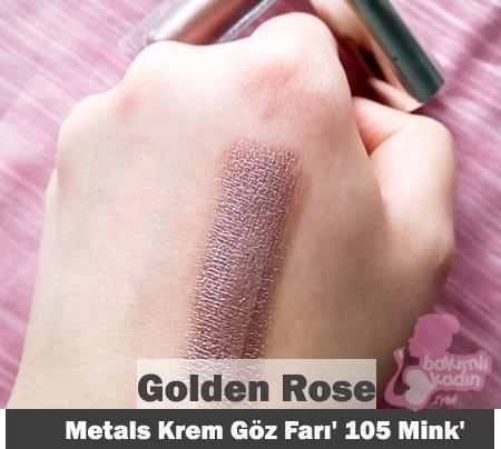 Golden Rose Metals Krem Göz Farı