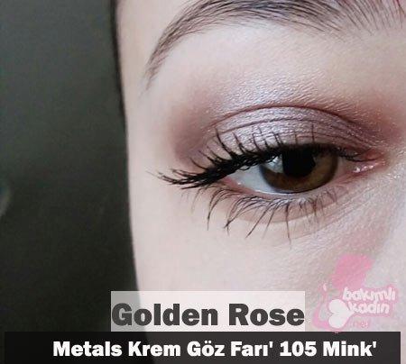 golden rose metals krem göz farı 105 mink 1